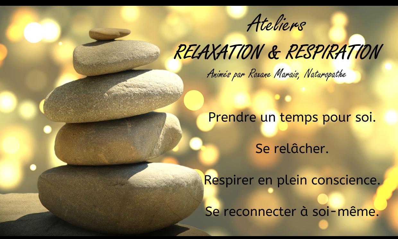 Ateliers de relaxation & respiration